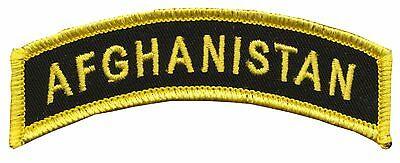 CVMA Style - Afghanistan Tab - Operation Enduring Freedom - US Army - USMC - OEF