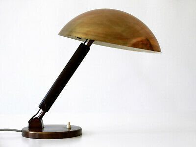 LUXURY Modernist BAUHAUS Art Deco KARL TRABERT Table Lamp BAG Dell KANDEM Era