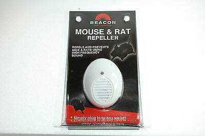 New & Boxed BEACON Plug In Pest Control Ultrasonic MOUSE & RAT REPELLER