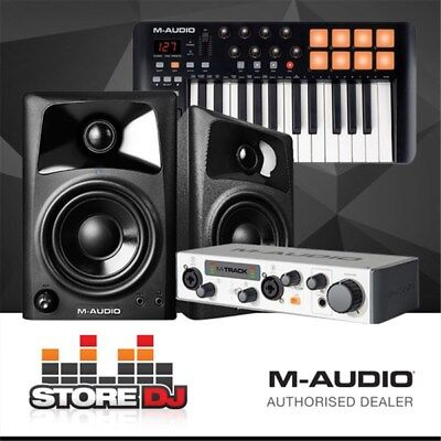M-Audio Entry Level Studio Pack w/ Monitors, Keyboard Interface & Software