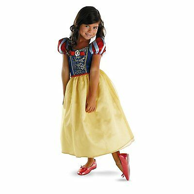 Snow White Disney Princess Costume Child Girl M 7-8 Child Halloween