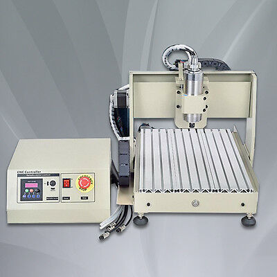 3D Cnc Router Engraver Engraving 6040 Table 4Axis Drilling Milling Machine 800W