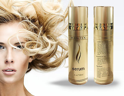 Hair-Tex Serum With Argan Oil & Proteins Plus Keratin ( Natural)