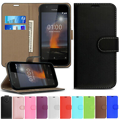 Premium Leather Flip Case Wallet Cover For Nokia 1 2 3 5 6 7 8 Plus Lumia Phones