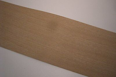 Real wood Veneer Oak american with Hot melt adhesive iron-on 210x25 cm