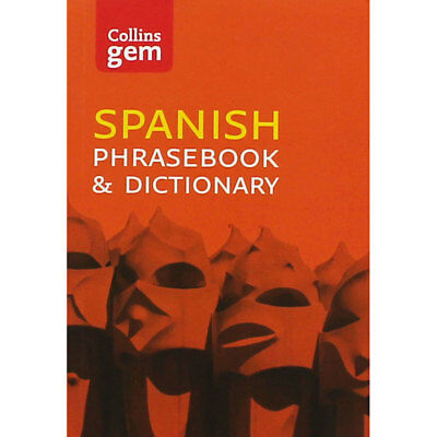 Collins Gem Spanish Phrasebook and Dictionary (Paperback), Back to School, New
