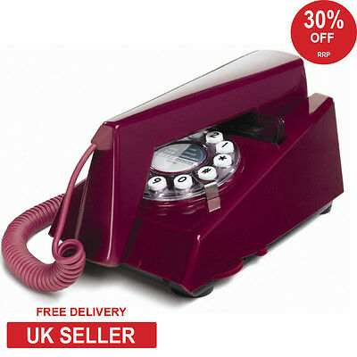 Wild & Wolf Trim Retro 1970's Phone - Purple