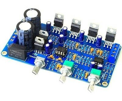 TDA2030A 2.1 Stereo Amp 2 Channel Subwoofer Audio Amplifier Board DIY kits
