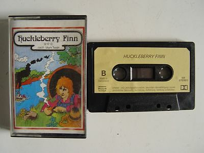 HUCKLEBERRY FINN - MC Kassette JUNIOR Hörspiel