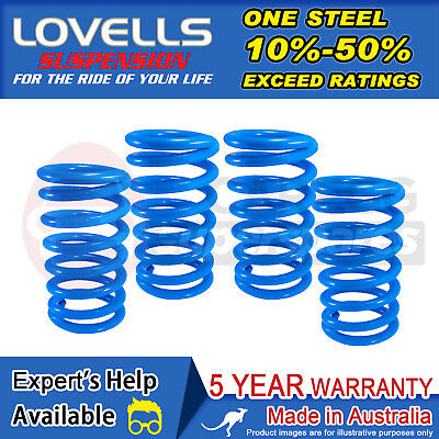 Front + Rear Raised Coil Springs For Toyota Camry MCV20R Wagon V6 98-02