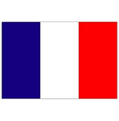 French 5ft x 3ft Large Fabric Flag Olympics, Sports & Patriotic Events