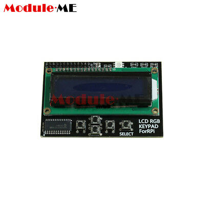 I2C IIC 16x2 RGB LCD Display Shield 1602 Blue Backlight For Raspberry Pi B+/B