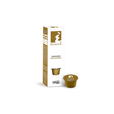 Caffitaly Ecaffe Prezioso Coffee Capsules - Sleeve of 10