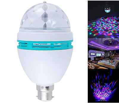 Relax Sensory LED Light Kids Autism Calming Visual Projector Toys Rotating Bulb