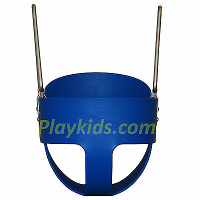 Baby Swing Set Toddler Full Bucket Seat Child Playset Backyard