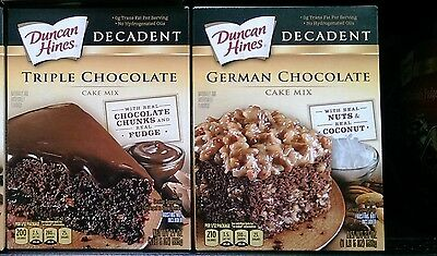Duncan Hines ~Decadent Cake Mix