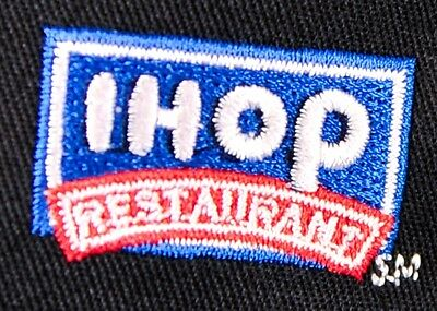IHOP Restaurant Apron (BLACK) 4-Way Apron Style with Embroidered LOGO