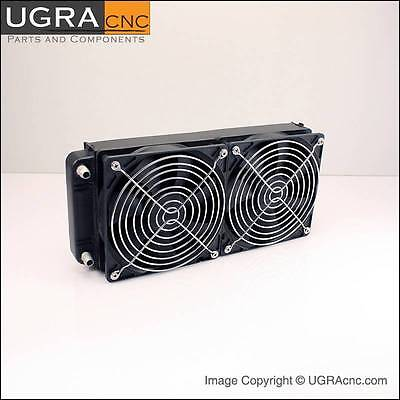 Heat Exchanger For CNC Spindle Motor Water Cooling System CNC Router Mill