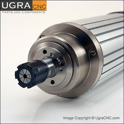 Professional GMT Spindle Motor Air Cooled 1.5 kW (2HP) 220V ER16 CNC Router Mill
