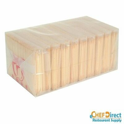 Bamboo Tooth Picks - 10 Bag/pack (1000 Pcs)