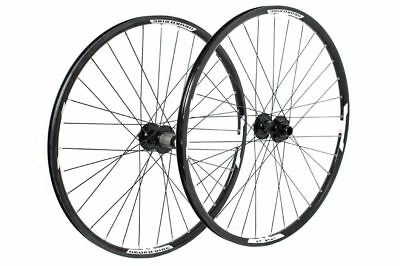 Tru-build Wheels 26 inch Front Disc Wheel 20mm Mach1 Neuro Black 26 inch
