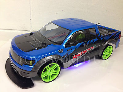 Monster Truck Large 4Wd Drift Rc Remote Control Car 1/10 Rechargeable Fast Speed