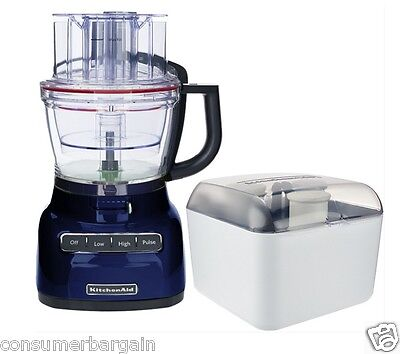 KitchenAid R-KFP1333BU 13Cup 3.1L W/ WIDE MOUTH FOOD PROCESSOR EXACTSLICE SYSTEM