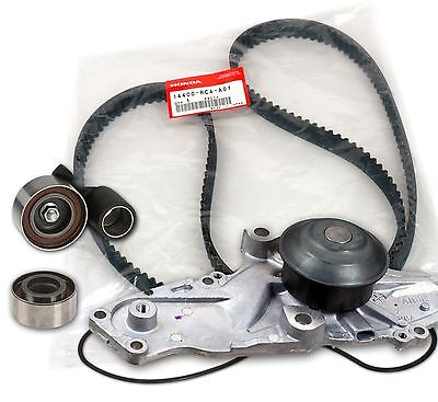 Honda/Acura V6 OEM Timing Belt & Water Pump Kit Factory Parts Genuine/Aisin/Koyo