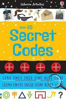 50 Secret Codes by Emily Bone Paperback Book Free Shipping!