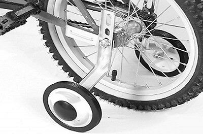 """Universal Training Wheels for Children Bicycle 12 """"- 20"""" plastic 2 piece New"""