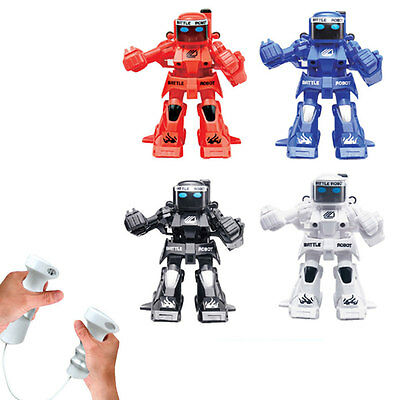 777-320 2.4G Remote Control Battle Fighting RC Smart Robot Toys Power New