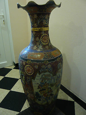 "grand vase ""ANTIQUE"" chine fin 19éme"