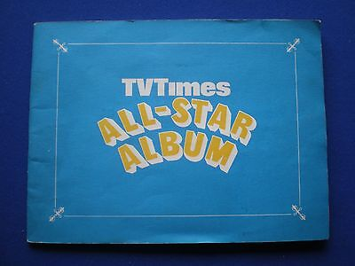 TVTimes ' All Star Album ' 1968 Free Gift with 32 'Stars' Stuck in .
