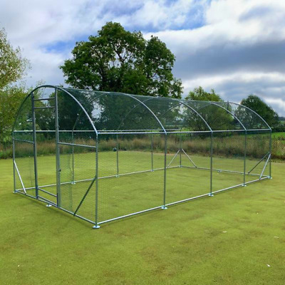 Chicken Run 6M X 3M Walk In Coop For Poultry Dog Rabbit Hen Cage Pen Metal Door