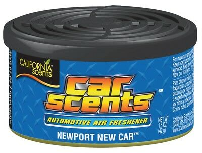 "California Scents Lufterfrischer Display 12 Stück  ""Newport New Car"""