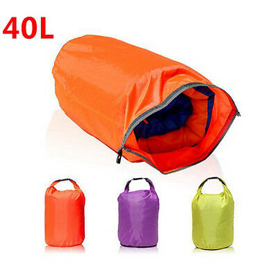 35L Waterproof Bag Storage Pouch Dry Bag For Hiking Swimming Camping Red Colors