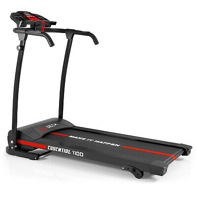 Tapis Roulant Elettrico 1100W 1,5Hp Fitness Richiudibile Con Speakers E Mp3
