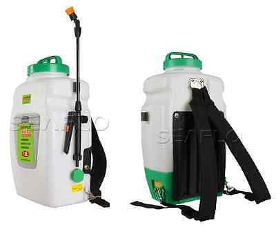 New SEAFLO Electric Backpack Garden Sprayer 4 Gallon Agricultural 12v Battery