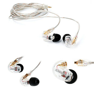 Shure SE215 CL In-Ear Sound Isolating Earphones Single Dynamic MicroDriver NEW
