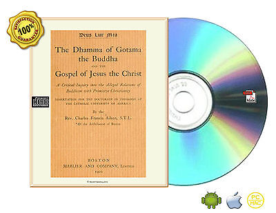 Relations of Buddhism with Christianity, Gospel, Critics, Collection Books On CD