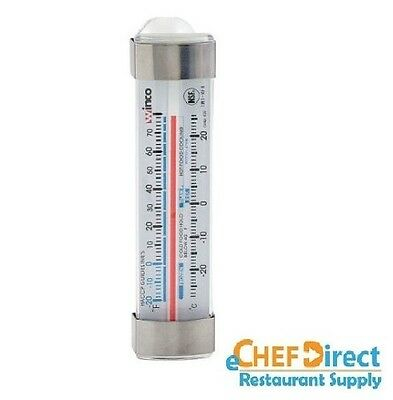 "4-3/4"" Dial Type Refrigerator Freezer Thermometer, Temp Range -20 to 70-F"