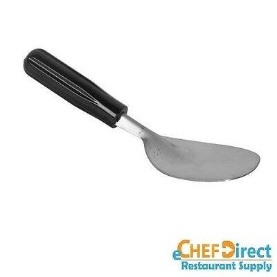 Ice Cream Spade, One-Piece Stainless Steel Blade, Black Handle