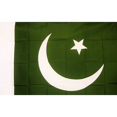 Pakistan Country Flag Banner Sign 3' x 5' Foot Polyester Grommets