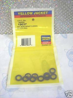 YELLOW-JACKET  1/4 SealRight O-Ring Kit 10 Part#19037