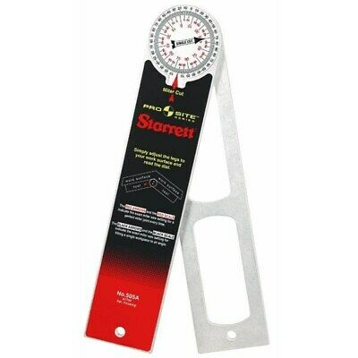 Protractor,No 505A-12,  Starrett Co L S, 3PK