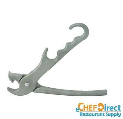 "8"" Heavy Duty Cast Aluminum Pizza Pan Gripper"