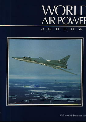 World Air Power Journal vol. 33 hardback (Tu-22 Blinder, Tu-22M Backfire) - New