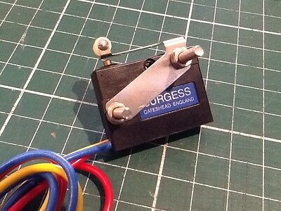 Burgess V3S Micro Limit Switch (Made in England) NEW!