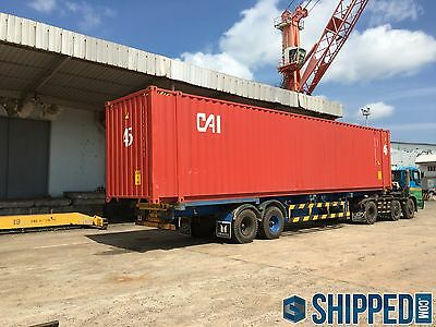 45' HC HIGH-CUBE SHIPPING CONTAINER *CERTIFIED CARGO WORTHY* in Los Angeles, CA