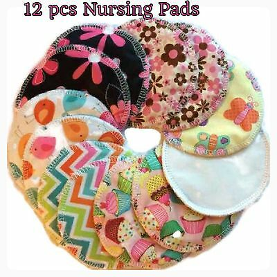 Nursing Pads, Set Of 6 pairs (12Pcs) Reusable,Leak proof  And washable.